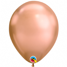 Chrome Balloons - Rose Gold Chrome Balloons (100pcs) 11 Inch